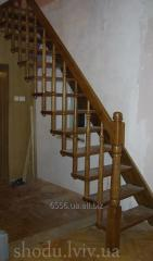 Escaliers mi-hélicoїdaux