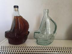 Бутылка стеклянная Парус 0,7л для вина или коньяка