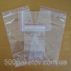Packages of zip-lock 10kh12sm