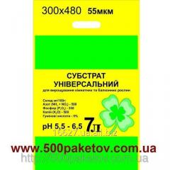 Polyethylene micron package 300х480 55 of the