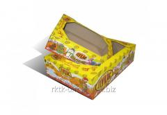 Corrugated tray confectionary