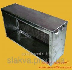 Insulator mesh zinced on 1 frame like