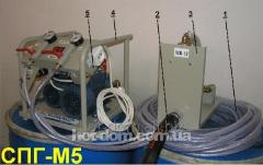 Compressors for production of insulating material