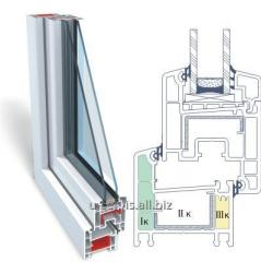 Metalplastic OPENTECK windows 3-chamber profile
