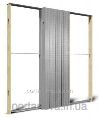 Sliding system of interroom doors Unico Case