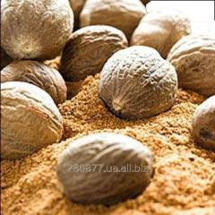 The nutmeg is whole