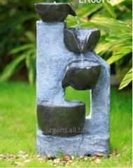 Fountain decorative Stone cascade