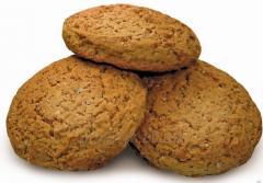 Gentle oatmeal cookies
