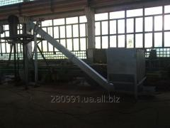 Скребковый конвейер для подачи топлива 500-2000