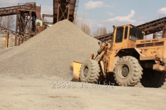 Crushed stone granite fraction 5-10, 10-20 of mm