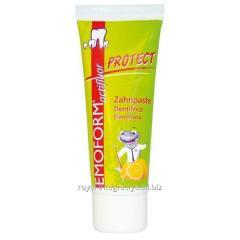 Emofluor actifluor PROTECT Детская зубная паста,12+ 75г (Dr. Wild&Co)