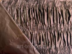 Обивка для гроба стандартная,(О9) коричневый