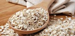 Oat flakes for instant in bags