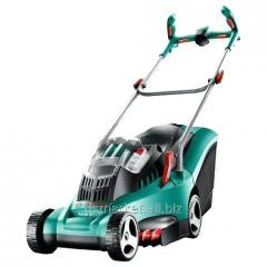 Accumulator lawn-mower of Bosch Rotak 37 Li