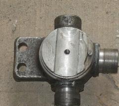 Двухходовой гидравлический кран КС-35, КС-45