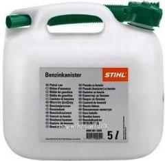 The canister for Stihl gasoline, 3 l, transparen