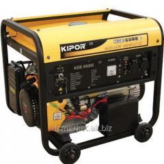 Kipor KGE6500E gasoline-driven generator