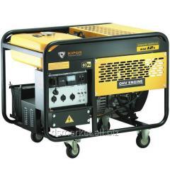Petrol Kipor KGE12E generator