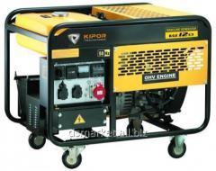 Petrol Kipor KGE12E3 generator