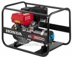Honda EC3600 gasoline-driven generator