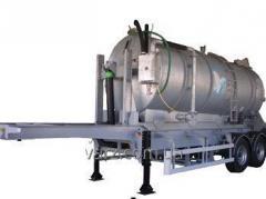 Semi-trailer tank dumping VARZ-NPTs 2018