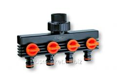 The Claber 4 distributor is section