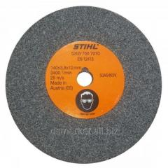 Disk tool-grinding on the Stihl 1/4 machine