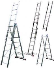 Лестница-стремянка трехсекционная Krause Corda