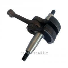 The crankshaft assembled with a rod 1E40F-5.4.1