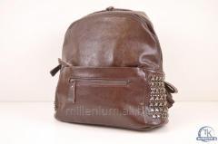 Рюкзак женский цв.коричневый (размеры 28/33/13см)