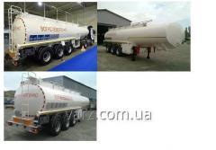 Cisternas automóveis combustíveis