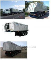 VARZ NPS-2740P semi-trailer dump truck
