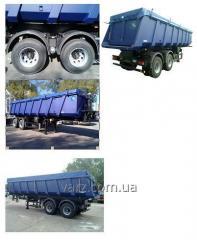VARZ NPS-3235PN semi-trailer dump truck