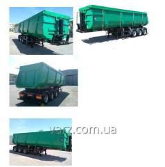 VARZ NPS-4040S2 semi-trailer dump truck