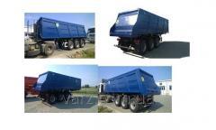 VARZ NPS-2730N semi-trailer dump truck
