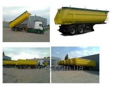 VARZ NPS-2224S semi-trailer dump truck
