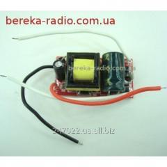 Driver LED A05 6-10x1W/0.3A, Uvkh = 85-265VAC,