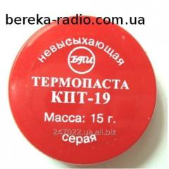 Paste of a teploprov_dn KPT-19 jar of 15 g