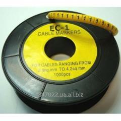 Marker of kabelniya of the EU-1 No. 1 2,5 mm.kv