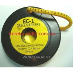 Marker of kabelniya of the EU-1 No. 2 2,5 mm.kv