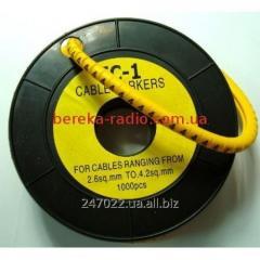 Marker of kabelniya of the EU-1 No. 4 2,5 mm.kv