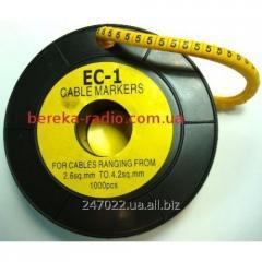 Marker of kabelniya of the EU-1 No. 5 2,5 mm.kv