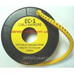 Marker of kabelniya of the EU-1 No. 8 2,5 mm.kv