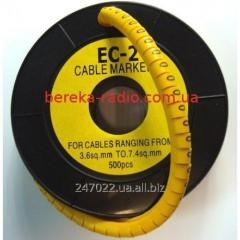 Marker of kabelniya of the EU-2 No. 0 4,0 mm.kv