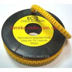 Marker of kabelniya of the EU-2 No. 1 4,0 mm.kv