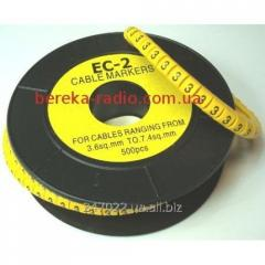 Marker of kabelniya of the EU-2 No. 3 4,0 mm.kv