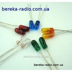 The bulb of a p_dsv_tka 12V is green