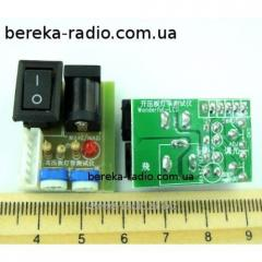 Vkh_dny module zhivlennya LCD of a p_dsv_tka z
