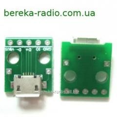 Payment a perekh_dnik of micro USB - / on 5