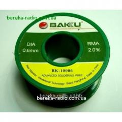 Prip_y 0,6mm 50 g of Baku BK-10006 Sn-97 of %,
